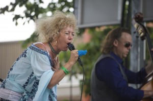 <br /> Jennie DeVoe at Taste of Tippecanoe (Click to enlarge)