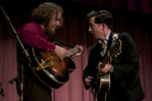 Adam Hoskins and Pokey LaFarge (click to enlarge)