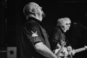 Bassist Kevin Hornback and Reeves Gabrels (Click photo to enlarge)